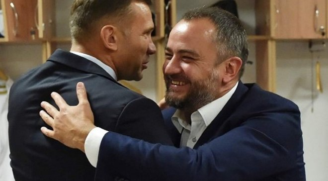 Павелко: С Шевченко у нас тесные отношения – не может быть никаких сюрпризов