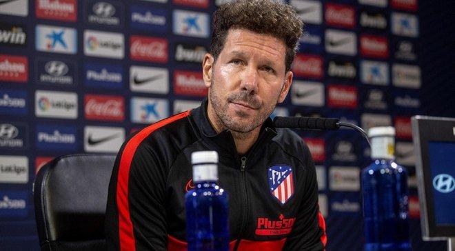 Симеоне выделил проблемы Атлетико, которые привели к потере очков в матче против Валенсии