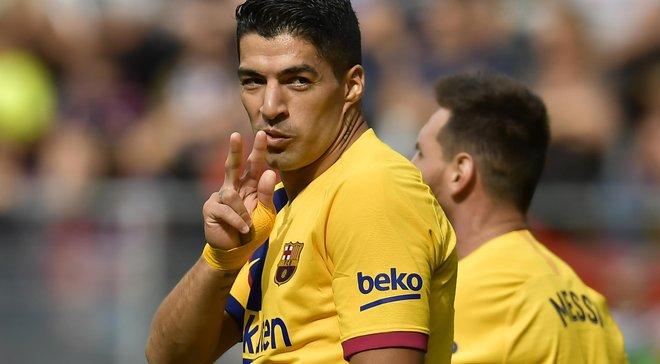 Суарес вошел в топ-4 лучших бомбардиров Барселоны