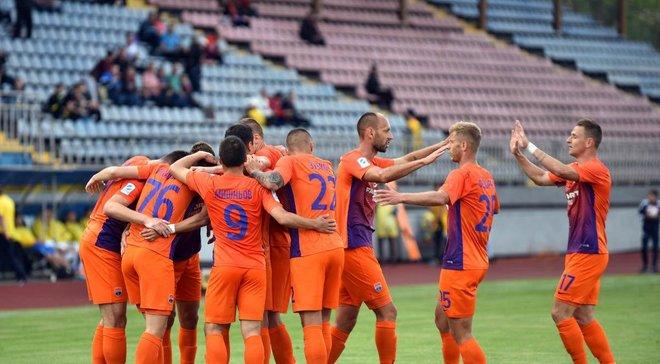 Мариуполь на последних минутах вырвал победу над СК Днепр-1