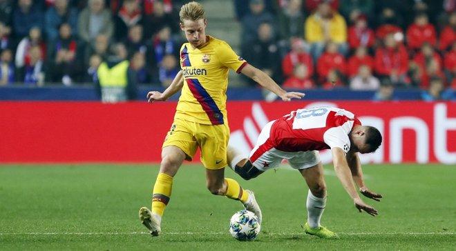 Сверхтяжелая победа Барселоны в видеообзоре матча со Славией