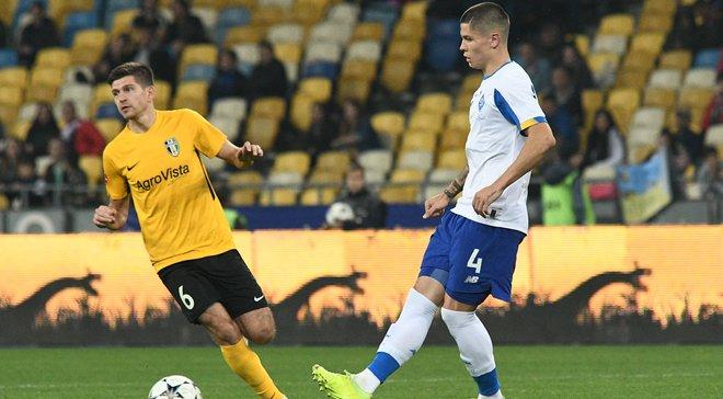 Динамо – Александрия: Попов оценил свой первый матч в текущем сезоне