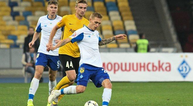 Буяльський відзначив ювілей у матчі Динамо проти Олександрії