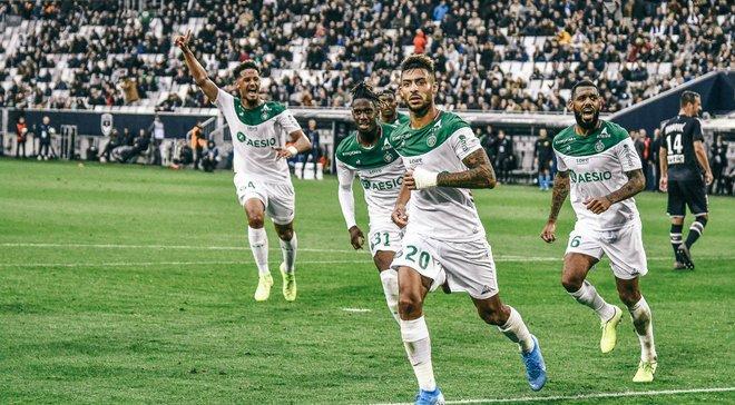 Лига 1: Сент-Этьен перед Александрией дожал Бордо, феерическая победа Монако, Марсель поднялся в топ-5