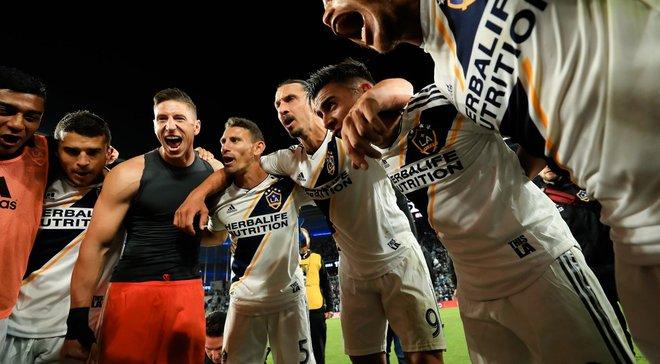 Ібрагімовіч з ЛА Гелаксі пробився у півфінал конференції і зіграє проти ФК Лос-Анджелес зіркового Вели