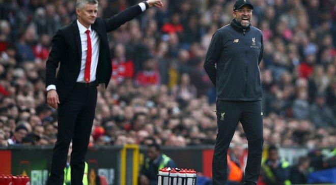 Сульшер ответил на жалобы Клоппа относительно игрового стиля Манчестер Юнайтед в матчах с Ливерпулем