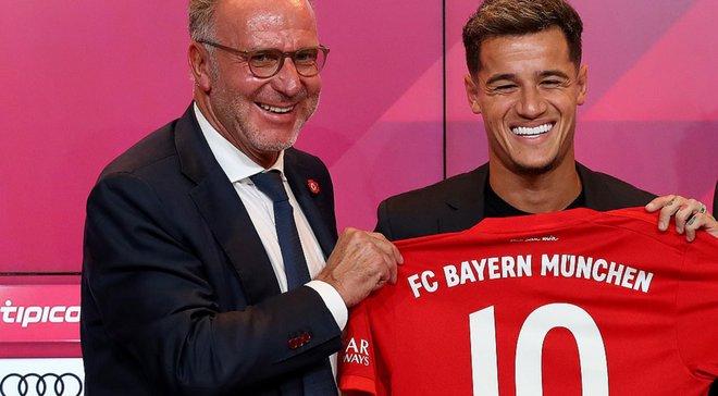 Баварія задоволена грою Коутінью – у клубі прокоментували можливий трансфер з Барселони
