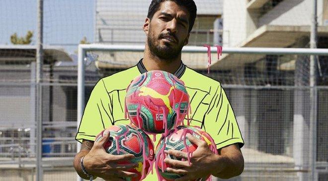 """Ла Лига представила зимнюю версию мяча в """"кислотных"""" цветах"""