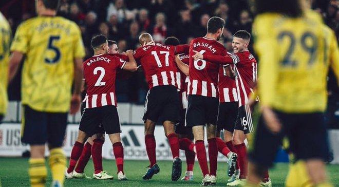 Шеффилд Юнайтед – Арсенал – 1:0 – видео гола и обзор матча