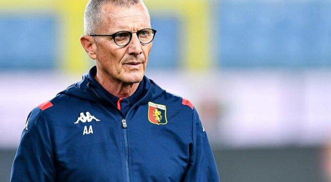 Андреаццоли уволен с поста главного тренера Дженоа
