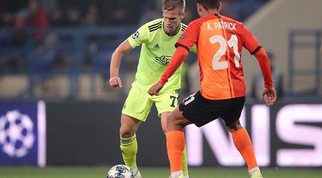 Ольмо: Довольны ничьей в матче Лиги чемпионов против Шахтера