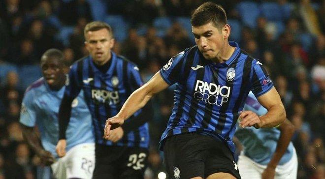Малиновский стал лучшим игроком Аталанты в матче против Манчестер Сити по версии Whoscored