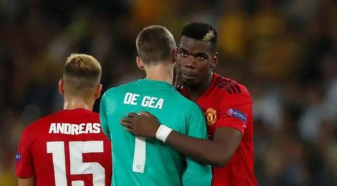 Погба и Де Хеа пропустили тренировку Манчестер Юнайтед накануне матча Лиги Европы