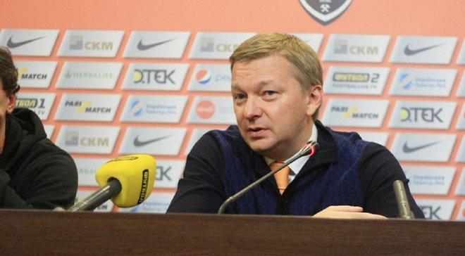 Палкін: Шахтар мріє виграти Лігу чемпіонів і повернутися в Донецьк