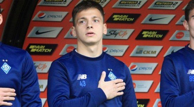 Русин: Динамо – це клуб, який у моєму серці з дитинства, я не проти провести там усю кар'єру