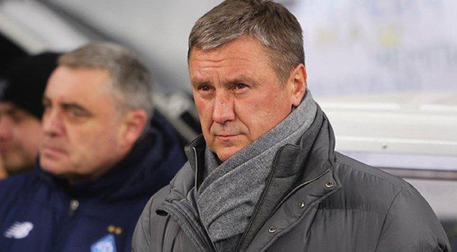 Динамо – Копенгаген: Хацкевич поддерживал бывшую команду на НСК Олимпийский