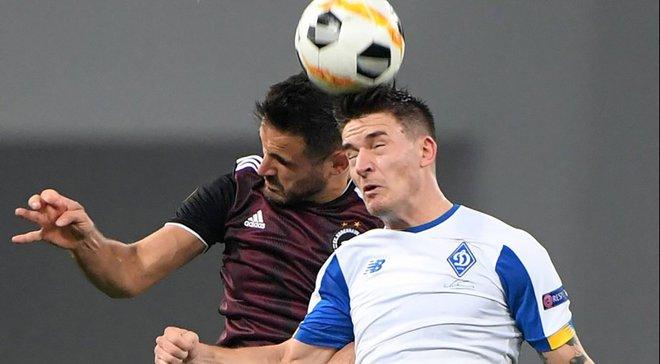Динамо – Копенгаген: Вербич недоволен своей игрой