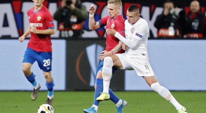 Зубков відзначився асистом у блискучій гольовій атаці – відеоогляд матчу ЦСКА – Ференцварош – 0:1