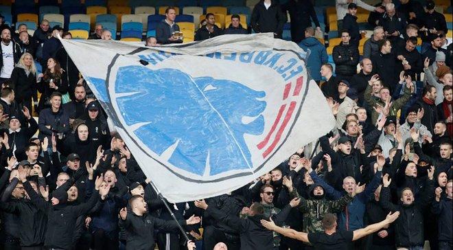 Динамо – Копенгаген: автобус с датскими фанатами забросали камнями перед матчем