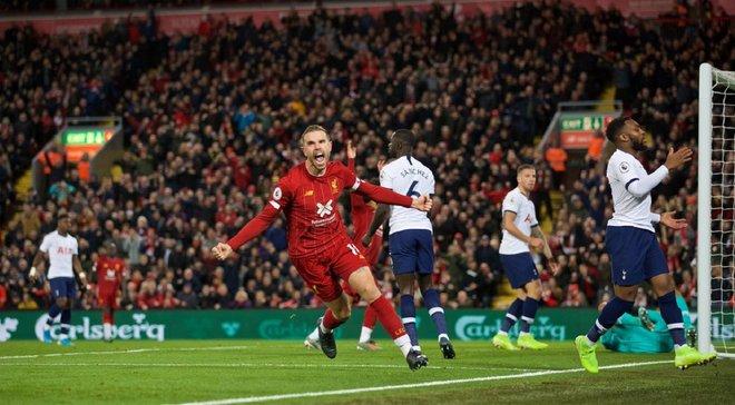 Ліверпуль – Тоттенхем – 2:1 – відео голів та огляд матчу