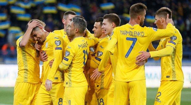 Шевченко объявил состав сборной Украины на матчи против Эстонии и Сербии