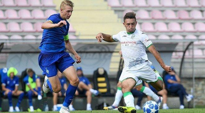 Динамо U-21 в матче с семью голами вырвало победу над Карпатами и возглавило турнирную таблицу