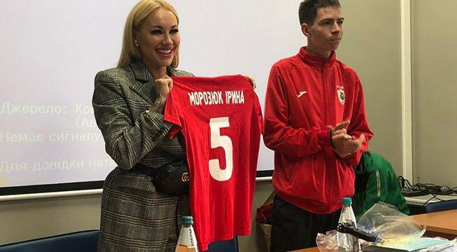 Ирина Морозюк стала президентом любительского клуба