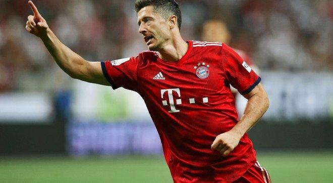 Лєвандовскі встановив рекорд Бундесліги, забивши у дев'ятому матчі поспіль