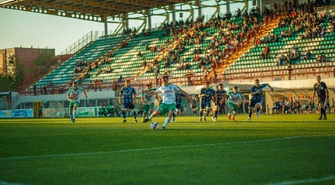 Оболонь-Бровар в меньшинстве вырвала победу в Агробизнеса в центральном матче 15 тура Первой лиги