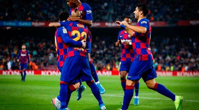 """Барселона вдома розгромила Вальядолід: захмарна реалізація """"блаугранас"""", Масіп не дає шансів Луніну, а Мессі – король"""