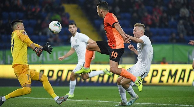 Панькив оценил свое противостояние с Мораесом в матче против Шахтера