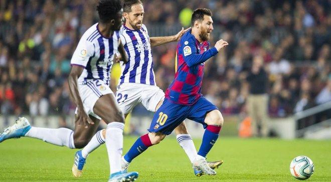 Гольова феєрія від Мессі та компанії у відеоогляді матчу Барселона – Вальядолід – 5:1