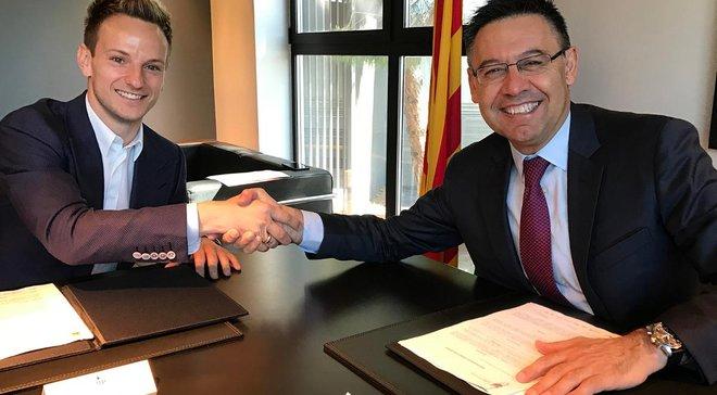 Барселона попрощається з Ракітічем взимку