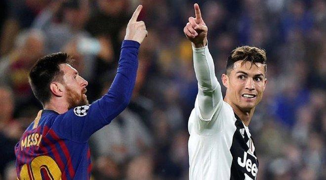 Месси опередил Роналду по количеству голов на клубном уровне