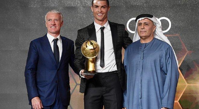 Оголошено номінантів на престижну міжнародну нагороду Globe Soccer Awards