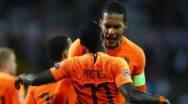 Збірна Нідерландів оголосила заявку на матчі відбору Євро-2020