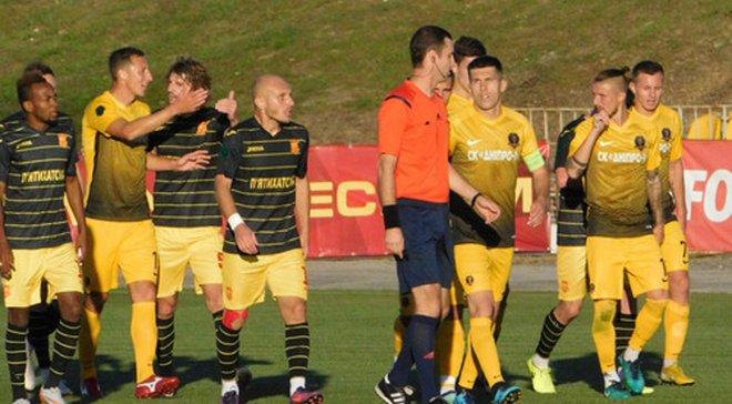Ингулец – СК Днепр-1 – 2:1 – видео голов и обзор матча
