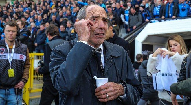 Фанати Брюгге перфомансом розчулили до сліз легенду клубу – зворушливе відео
