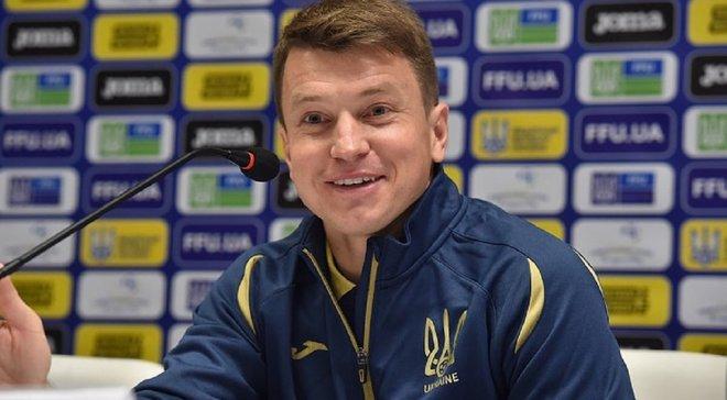 Ротань объявил состав молодежной сборной Украины на матчи против Дании и Азербайджана