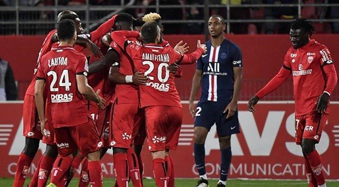 Лига 1: ПСЖ сенсационно уступил Дижону, Навас пропустил издевательский гол между ног