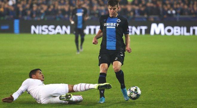 Соболь заробив пенальті для Брюгге вже на другій хвилині матчу з Кортрейком
