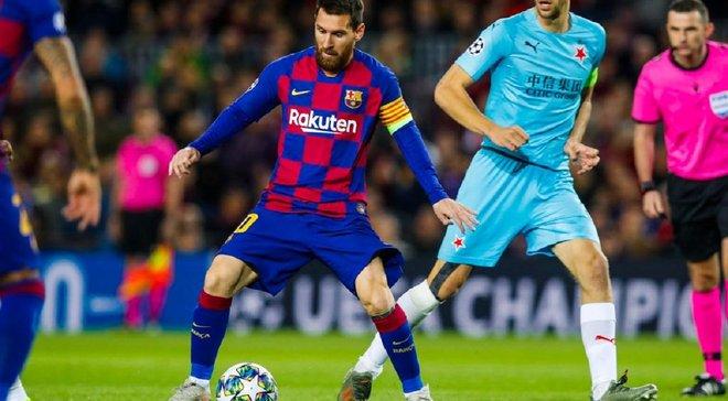 Барселона снова разочаровала своей игрой и не победила – видеообзор матча против Славии