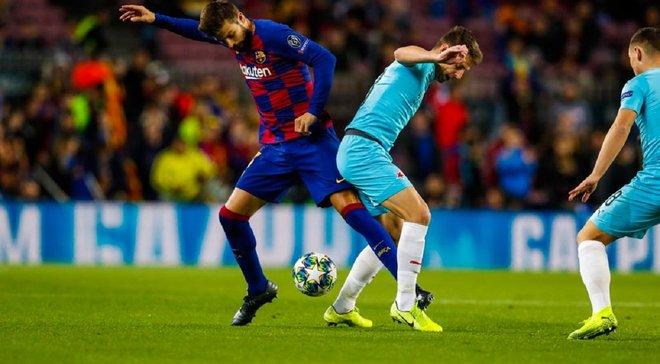 Барселона не смогла переиграть Славию в равном матче на Камп Ноу