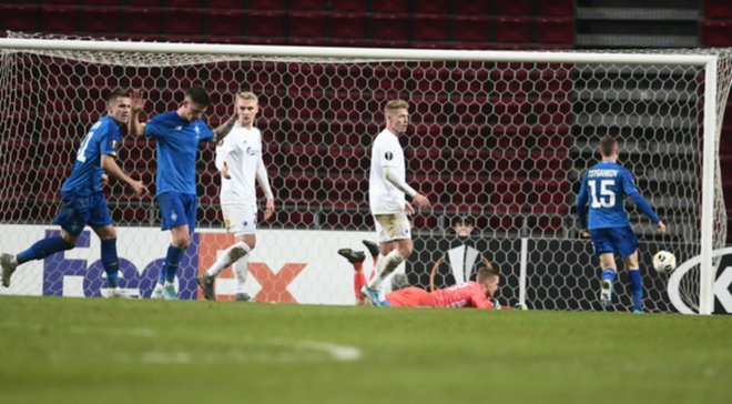 Копенгаген – Динамо – 1:1 – видео голов и обзор матча