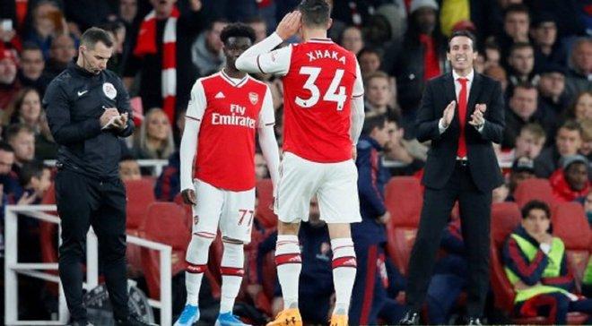 Джака офіційно позбавлений звання капітана Арсенала – Емері назвав нового власника пов'язки