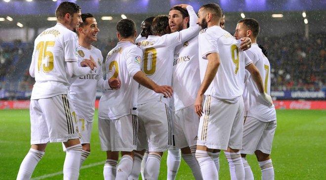 Реал разгромил Эйбар и стал лидером чемпионата Испании – соперник сборной Украины получил полную авоську голов