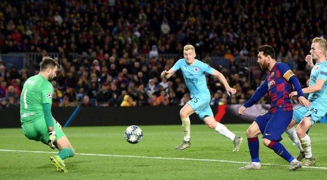 Месси и другие просто ушли, не пожав нам руки, – вратарь Славии раскритиковал игроков Барселоны