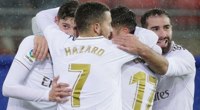 Эйбар – Реал – 0:4 – видео голов и обзор матча