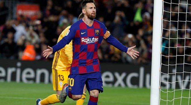 Эффектный хет-трик Месси в видеообзоре матча Барселона – Сельта – 4: 1