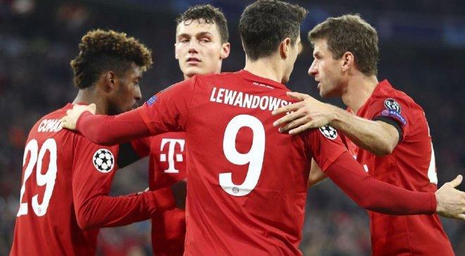 Баварія – Олімпіакос – 2:0 – відео голів та огляд матчу